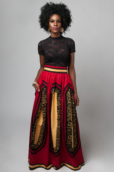 Shop Kuwala.co for the Adesina Noelle Maxi Skirt by Kaela Kay