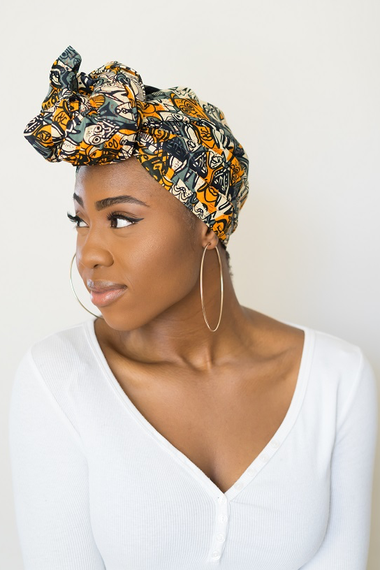 Shop Kuwala.co for the African Masks Headwrap by Thrifty Upenyu