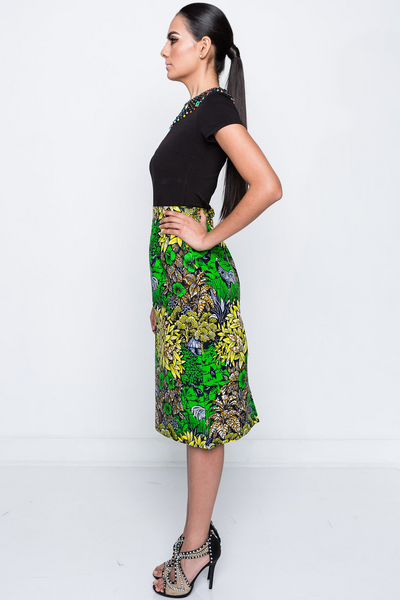 Shop Kuwala.co for the Aleema Pencil Skirt by Kaela Kay