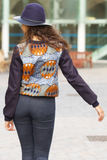 Shop Kuwala for the Ana Shirt (blue/orange) by Gitas Portal