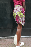Shop Kuwala.co for the Ankaako Skirt (Pink) by Akwan2fo