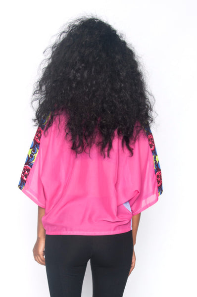 Shop Kuwala.co for the Arama Top (pink/purple) by Ajepomaa Design Gallery