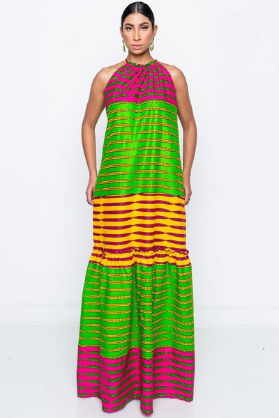 Shop Kuwala.co for the Asha Lucinda Maxi Dress by Kaela Kay