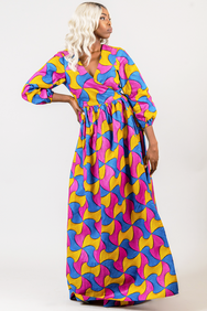 Shop Kuwala.co for the Bantu Wrap Dress by Missbeida