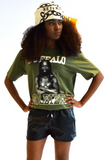 Shop Kuwala.co for the Buffalo Soldier T-Shirt by Bebe Rose