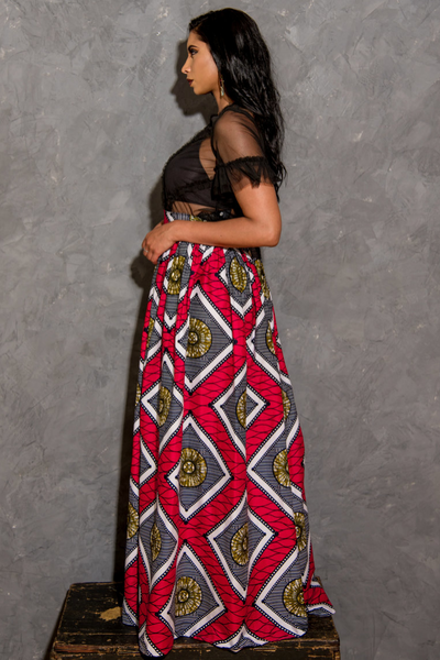 Shop Kuwala.co for the Cali Njeri Maxi Skirt by Kaela Kay