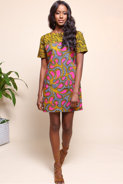 Shop Kuwala for the Chelsea Tunic (Guava) by suakoko betty