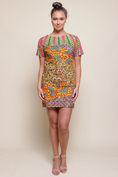 Shop Kuwala.co for the Chelsea Tunic (Sunrise) by suakoko betty