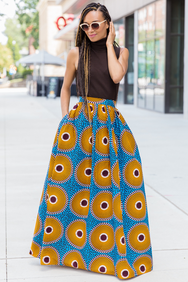 Shop Kuwala.co for the Chloe Maxi Skirt by Melange Mode