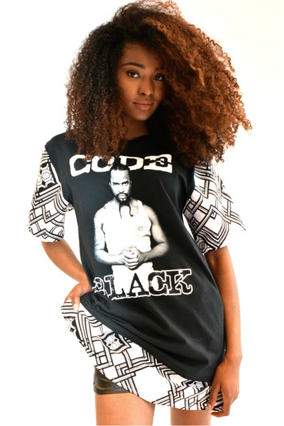 Shop Kuwala for the Code Black T-Shirt by Bebe Rose