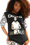 Shop Kuwala.co for the Code Black T-Shirt by Bebe Rose