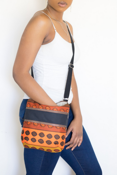 Shop Kuwala.co for the Cowrie Crossover Bag by Thrifty Upenyu