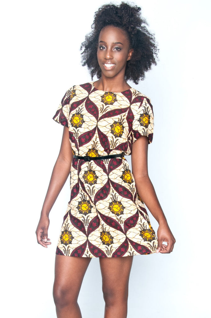 Shop Kuwala.co for the Sundance Shift Dress by Mayamiko Designed