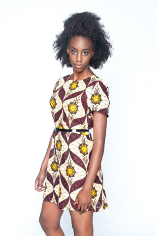Shop Sundance Shift Dress by Mayamiko Designed at Kuwala