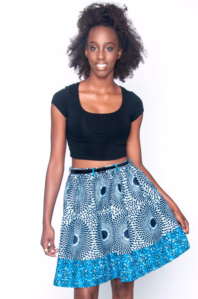 Shop Kuwala.co for the Yopa Skirt (Blue) by Poqua Poqu