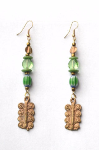 Shop Kuwala.co for the Dwennimmen Earrings by Craftmans Studio