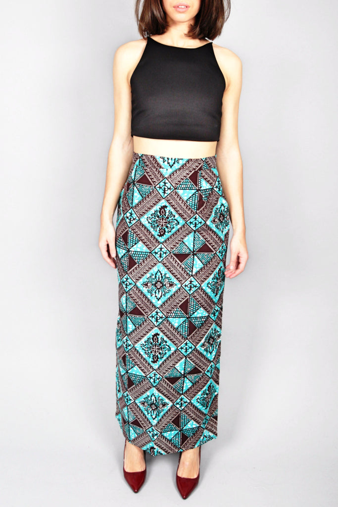Shop Kuwala.co for the Duakor Skirt (Crosses) by Atelier D'Afrique