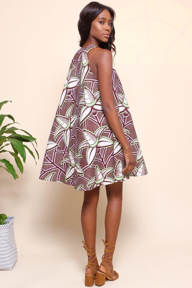 Shop Kuwala.co for the Famatta Swing Dress (Coconut) by suakoko betty