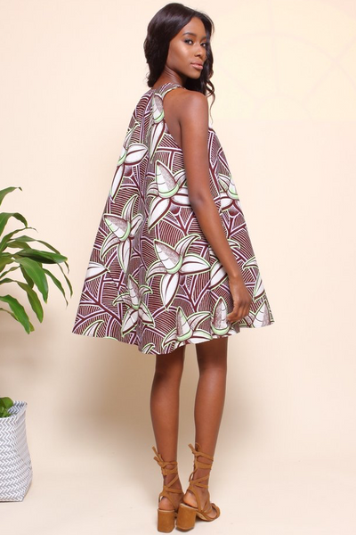 Shop Kuwala for the Famatta Swing Dress (Coconut) by suakoko betty