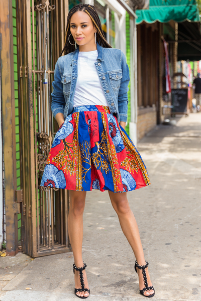 Shop Kuwala.co for the Gloria Skirt by Melange Mode