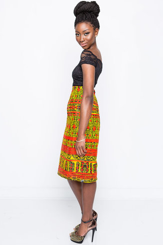 Shop Kuwala.co for the Janae Anya Pencil Skirt by Kaela Kay