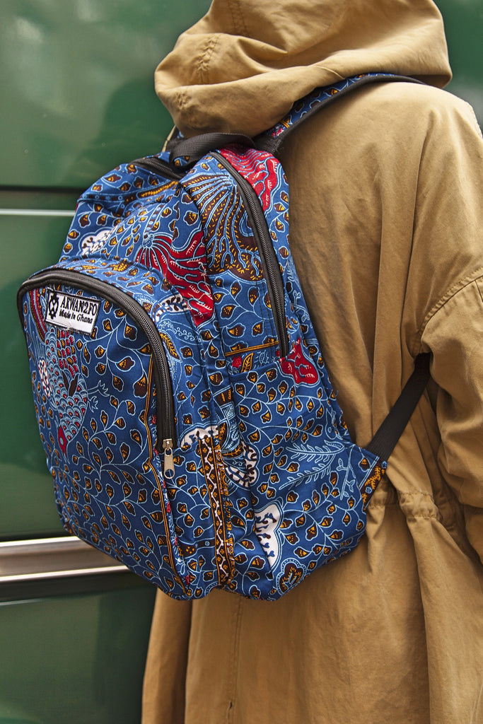 Shop Kuwala.co for the Juaso Bag (Blue) by Atelier D'Afrique