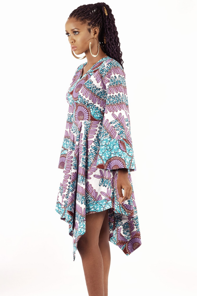 Shop Kuwala.co for the Kimono Jaga Jaga Dress by KIKI Clothing