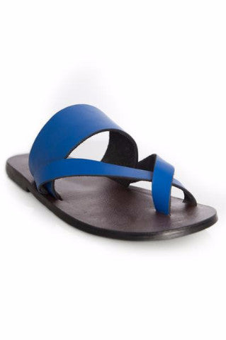 Shop Kuwala.co for the Kriss Kross Sandal (Electric Blue) by KIKI Clothing