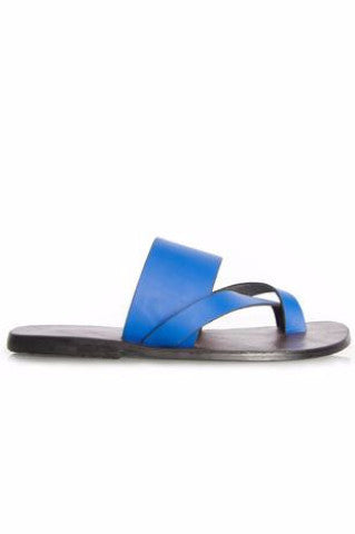 Shop at Kuwala for the Kriss Kross Sandal (Electric Blue) by KIKI Clothing - 4