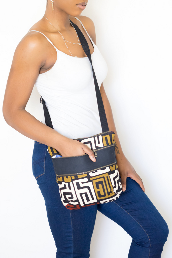 Shop Kuwala.co for the Kuba Crossover Bag by Thrifty Upenyu