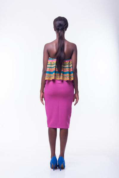 Shop at Kuwala for the Lara Crop Blouse by Poqua Poqu - 3