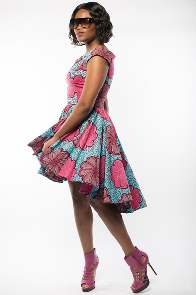 Shop Kuwala for the Lauren Dress (Pink) by Gitas Portal