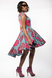 Shop Kuwala.co for the Lauren Dress (Pink) by Gitas Portal