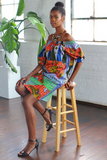Shop Kuwala.co for the Makeba Cocktail Dress (Periwinkle) by suakoko betty