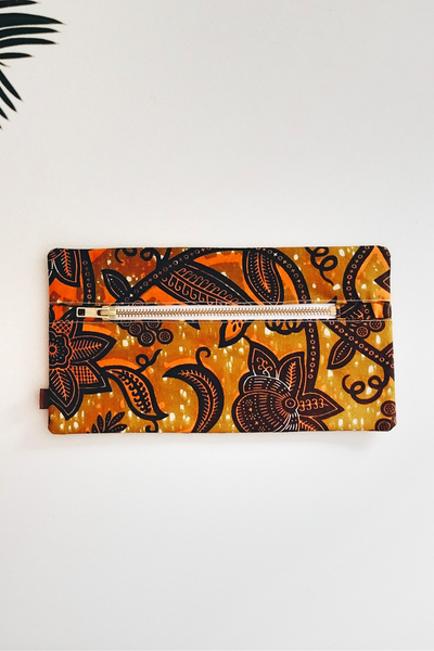 Shop Kuwala for the Cherie Makeup Bag (brown) by PAPAYA & CO