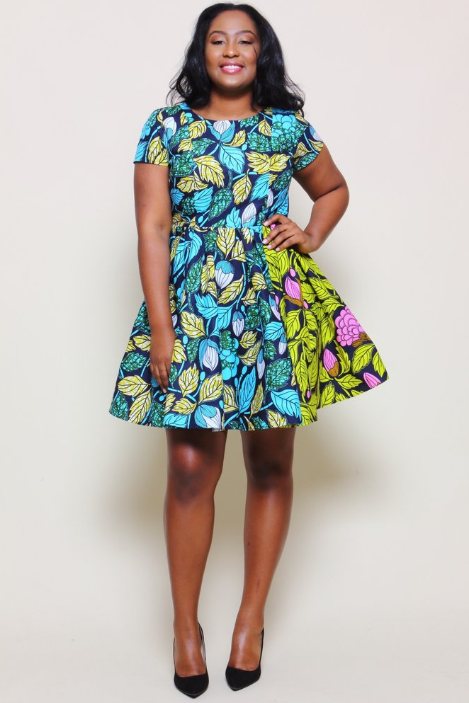 Shop Kuwala.co for the Mardia Dress (Aqua) by suakoko betty