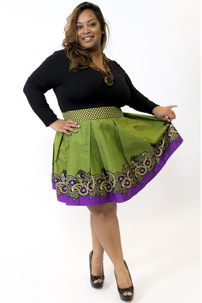 Shop Kuwala.co for the Marvell Skirt by Bebe Rose