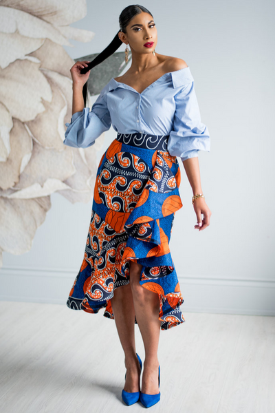 Shop Kuwala.co for the Masika Chacha Skirt by Kaela Kay