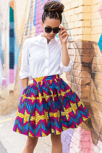 Shop Kuwala.co for the Maya Skirt by Melange Mode