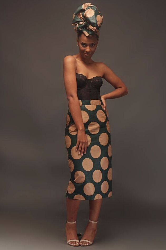 Shop Kuwala.co for the Mbali Midi Skirt by House of uBuhle