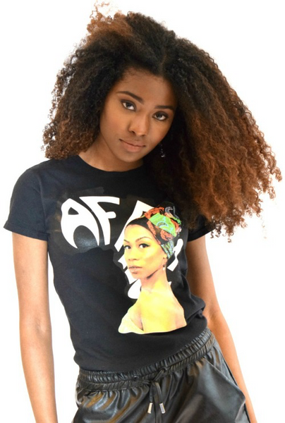 Shop Kuwala.co for the Miss Africa T-Shirt by Bebe Rose