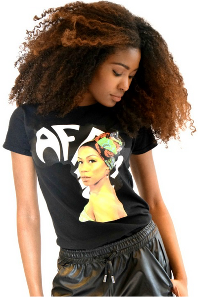 Shop Kuwala for the Miss Africa T-Shirt by Bebe Rose