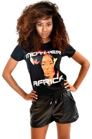 Shop Kuwala for the Mother Africa T-Shirt by Bebe Rose