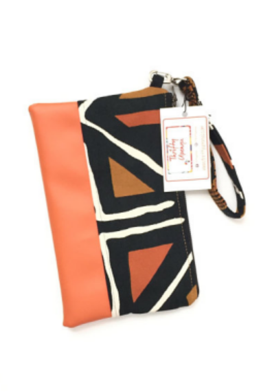 Shop Kuwala.co for the Mudcloth Wristlet by Thrifty Upenyu
