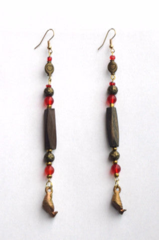 Shop at Kuwala for the Nwa Pa Earrings by Craftmans Studio