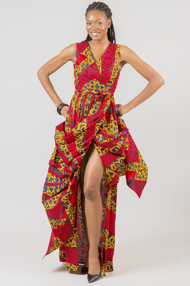 Shop Kuwala.co for the Nasrat Wrap Dress by Missbeida