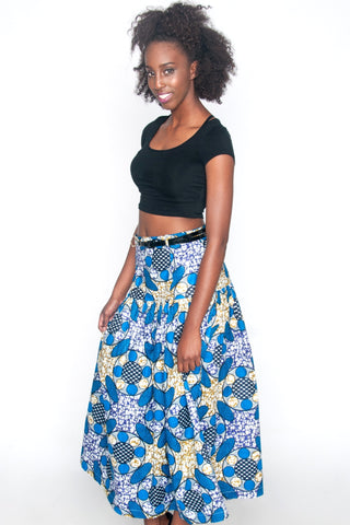Shop Natalie Skirt by Njema Helena at Kuwala