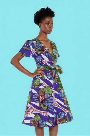 Shop Kuwala for the Wrap Dress by KIKI Clothing