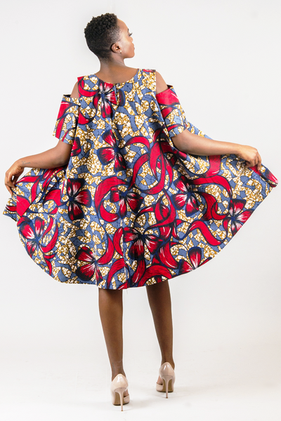 Shop Kuwala for the Open Shoulder Circle Dress by Missbeida