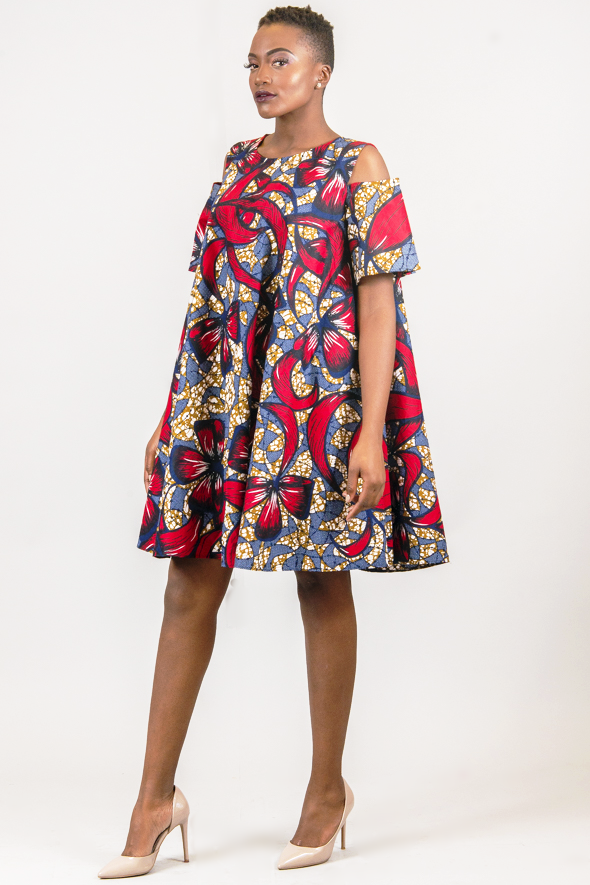 Shop Kuwala.co for the Open Shoulder Circle Dress by Missbeida